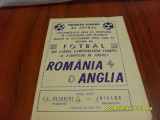 program    Romania  -  Anglia