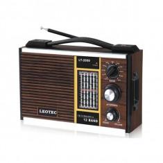 Radio Portabil Leotec LT2009 - Aparat radio Leotec, Digital