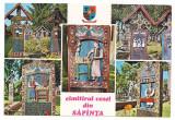 % carte postala (marca fixa)-MARAMURES-Cimitirul vesel din Sapanta, Necirculata, Fotografie