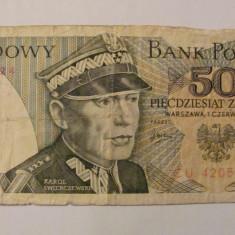 CY - 50 zlotych (zloti) 1979 Polonia