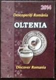 ROMANIA 2014 - BROSURA EMISIUNE MARCI POSTALE - OLTENIA (C.P.18)