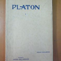 Platon Apologia Euthyphron Kriton Cezar Papacostea 1930 - Carte veche