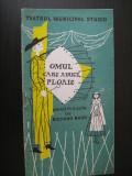 Program teatru stagiunea 1957-Omul care aduce ploaie/Teatrul Municipal Studio