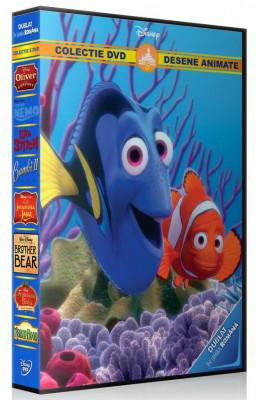 Colectie Desene Animate Disney vol.5 - 8 DVD dublate in limba romana foto