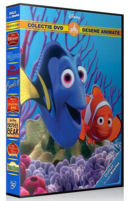 Colectie Desene Animate Disney vol.5 - 8 DVD dublate in limba romana