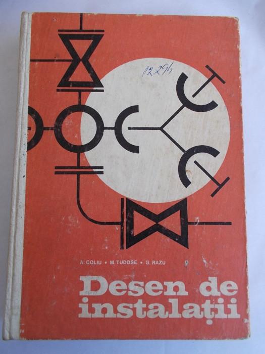 DESEN DE INSTALATII - COLIU,TUDOSE ,RADU