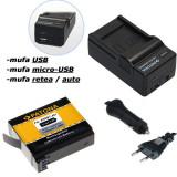 PATONA | Incarcator 4in1 USB + Acumulator pt GoPro Hero 4 AHDBT-401 AHDBT 401