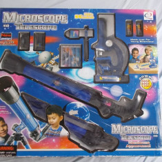 MICROSCOP SI TELESCOP MICUL  SCIENTIST
