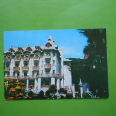 HOPCT 11285 SLANIC MOLDOVA -VILA PALAS -JUD.BACAU [CIRCULATA] - Carte Postala Moldova dupa 1918, Printata
