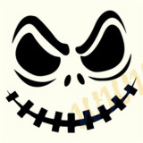 Ghost_Sticker Décor_Auto Moto_Cod:DIV-349-Dimensiuni: 10 cm. x 9.3 cm.
