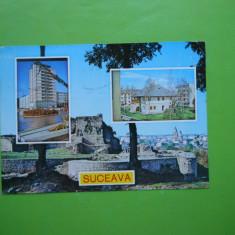 HOPCT 11267 SUCEAVA -JUD.SUCEAVA [CIRCULATA] - Carte Postala Bucovina dupa 1918, Printata