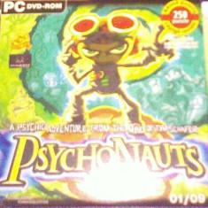 Psychonauts PC DVD - LEVEL - Jocuri PC Altele, Actiune, 12+, Single player