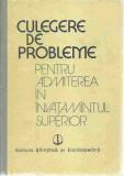 Vasile Brinzescu - CULEGERE DE PROBLEME REZOLVATE MATEMATICA FIZICA CHIMIE