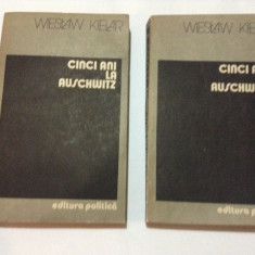 Wieslaw Kielar - CINCI ANI LA AUSCHWITZ, RF8/1 - Carte Istorie