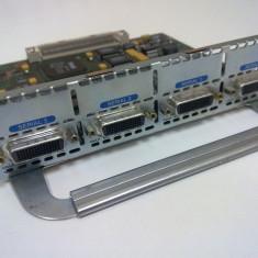 Modul serial Cisco NM-4T - 4 porturi DB-60, serial, frame relay, CCNA