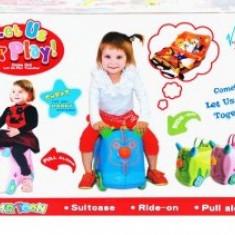 Troller de Jucarie cu Roti - Dulap copii