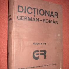 Dictionar german roman (140.000 cuvinte) - editia a ll-a ,1989 - Academia Romana