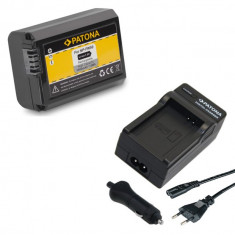 PATONA | Incarcator + Acumulator pt Sony NP-FW50 NP FW50 NPFW50 NEX-5K NEX-6 - Baterie Aparat foto