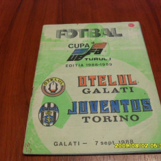 Program Otelul Galati - Juventus - Program meci