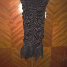 Rochie neagra - Rochie de seara, Marime: 38, Culoare: Negru