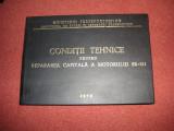 Conditii tehnice pentru repararea capitala a motorului SR-211