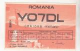 Bnk cp Romania CP QSL 1986 - Vidraru - Statuia energeticianului, Circulata, Printata