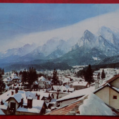 Vedere/ Carte postala - Busteni - Carte Postala Banat dupa 1918, Circulata, Printata