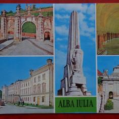 Vedere Alba-Iulia - Carte Postala Banat dupa 1918, Circulata, Printata
