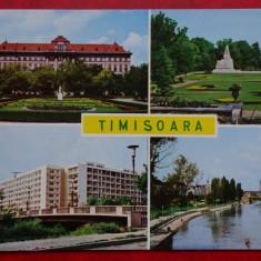 Vedere Timisoara - Carte Postala Banat dupa 1918, Circulata, Printata