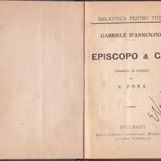 GABRIELE D'ANNUNZIO - EPISCOPO & C-IE ( INTERBELICA, RELEGATA ) - Carte veche