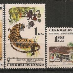 Cehoslovacia.1971 Bienala ilustratorilor de carti Bratislava PP.32 - Timbre straine