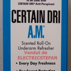CERTAIN DRI A.M. - Roll-ON 74mL - Antiperspirant de zi - Import SUA - Antiperspirant barbati