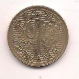 No(3) moneda-ROMANIA- 50 bani 2010-Aurel Vlaicu