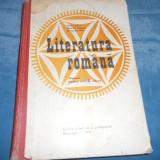 LITERATURA ROMANA MANUAL PENTRU ANUL II 1975