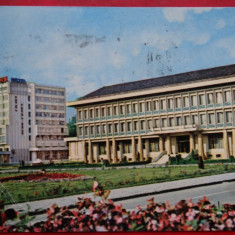 Vedere/ Carte postala - Zalau - Palatul Politico-administrativ, Circulata, Printata