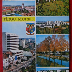 Vedere/ Carte postala - Targu Mures - Carte Postala Banat dupa 1918, Circulata, Printata