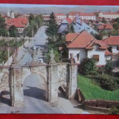 Vedere/ Carte postala - Alba Iulia - Carte Postala Banat dupa 1918, Circulata, Printata