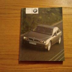 BMW  AG * Owner`s Handbook for Vehicle * 735i, 735Li, 745i, 745Li - 2002, 308 p.