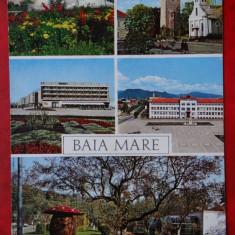 Vedere/ Carte postala - Baia Mare - Carte Postala Banat dupa 1918, Circulata, Printata