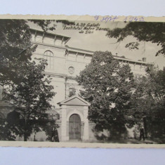 C.P. CENZURATA GALATI INSTITUTUL NOTRE DAME DE SION ANII 40 - Carte Postala Moldova dupa 1918, Circulata, Printata