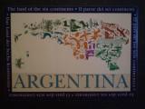 ETICHETA STICLA VIN - ARGENTINA - NEFOLOSITA .