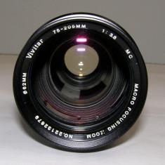 Obiectiv Vivitar 75-205mm 1:3.8 montura Canon C/FD pentru reparat - Obiective RF (RangeFinder)