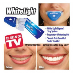 Aparat albire dinti White Light