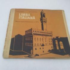 LIMBA ITALIANĂ MANUAL EXPERIMENTAL PENTRU CLASA A III-A, 1970 - Curs Limba Italiana