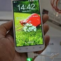 Lg l90 dual sim quad core orice retea - Telefon mobil LG Optimus L9 II, Alb, Neblocat