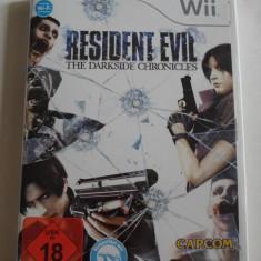 Joc WII (Nintendo) - RESIDENT EVIL: The Darkside Chronicles - Lb.Germana  - C13, Shooting, 16+, Capcom