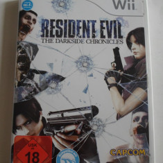 Joc WII (Nintendo) - RESIDENT EVIL: The Darkside Chronicles - Lb.Germana - C13 - Jocuri WII Capcom, Shooting, 16+