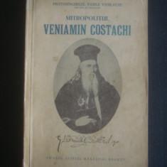 VASILE VASILACHE - MITROPOLITUL VENIAMIN COSTACHI1768-1846 - Biografie