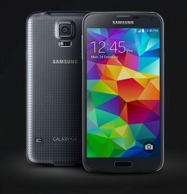 Vand Samsung Galaxy S5 foto