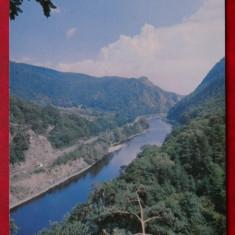 Vedere/ Carte postala - Valea Oltului la Cozia